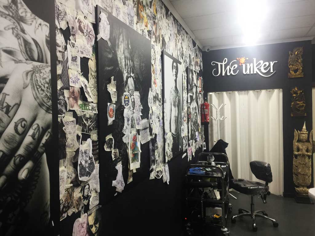 pared diseños tattoos the inker