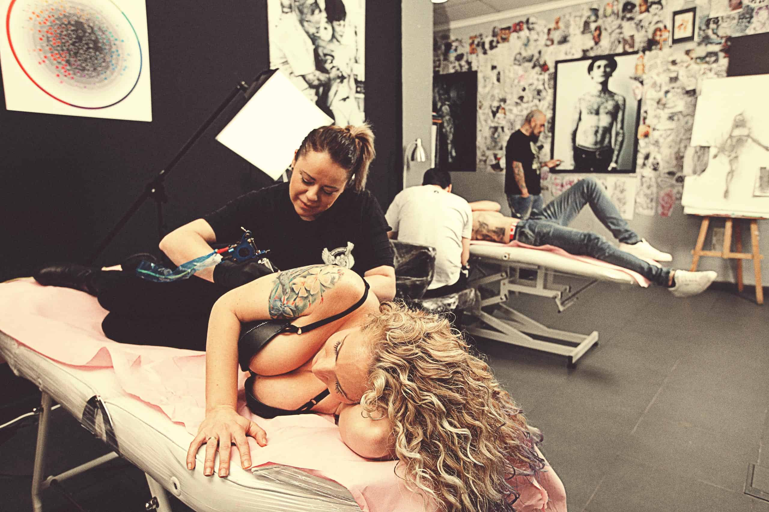 Personal the inker interior estudio tatuando